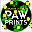 Principal Grassa's Pawprints 6/16/19